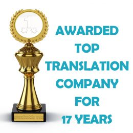 awarded top translation company