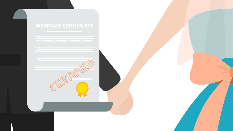 certified translation of marriage certificate