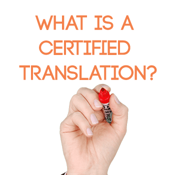 What is the meaning of certified and where does it apply