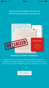 notarized translation app