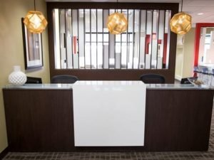 Las Vegas office front desk