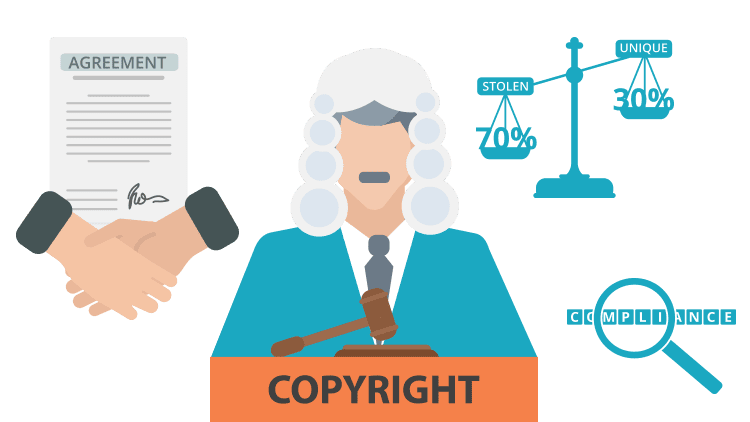 What is the difference between copyright and patent?