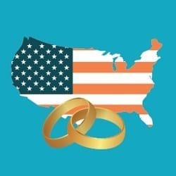 USA marriage registry