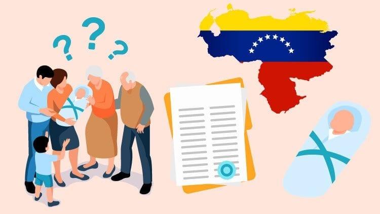 birth certificate venezuela