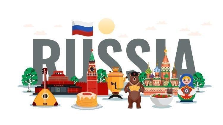 history of russian language