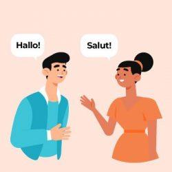 improve foreign language conversation skills