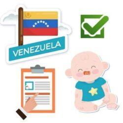 venezuela birth certificate