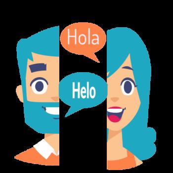 spanish or english language