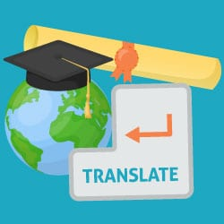 translation college application foreign student