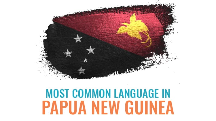 Papua New Guinea language