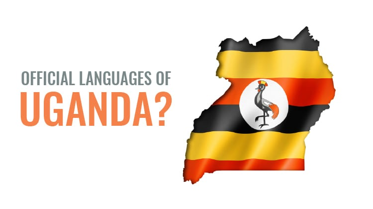 What is the official languages in uganda